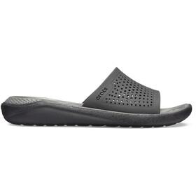 Crocs LiteRide Tøfler, sort/grå
